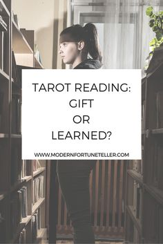 Is the ability to read tarot cards a gift or learned? Here's my take on it.