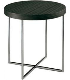 Yard Round Coffee Table With Metal Frame Poliform