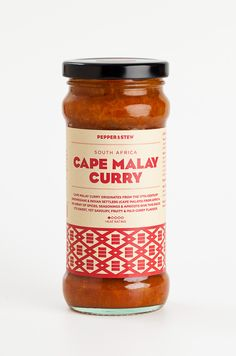This is a sweet and fruity South African curry  sauce which works well with chicken, pork , fish or lamb. Brown the meat, add the Cape Malay sauce and stock and leave to slow cook until the meat is falling apart.