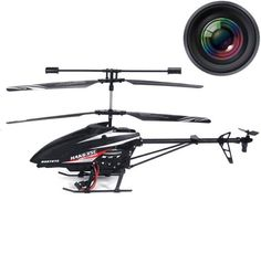"Haktoys® HAK635C 2.4GHz 17"" Video & Photo Camera 3.5CH Helicopter, Gyroscope, Rechargeable, Ready to Fly, and with LED Lights (Micro SD Card Included)  List Price: $199.99 Sale Price: $42.50"