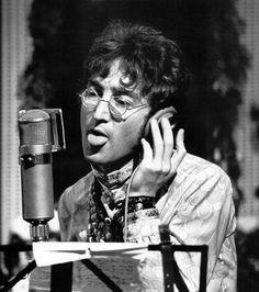 John at EMI Studios (1967)