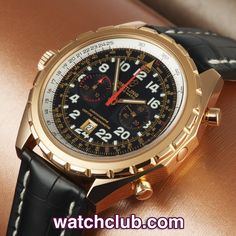 """Breitling Chrono-Matic Limited 250 Pieces - Rose Gold REF: H2236012/B818 
