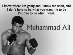 Muhammad Ali was one of the most inspiring athletes in history. Here are 30 of the greatest Muhammad Ali quotes to inspire you to achieve your own goals. Wisdom Quotes, Words Quotes, Me Quotes, Sayings, Qoutes, Muhammad Ali Quotes, Imam Ali Quotes, Daily Motivational Quotes, Inspirational Quotes