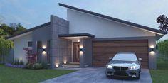 House Facade Modern Flat Roof Ideas For 2019 Flat Roof House Designs, 4 Bedroom House Designs, 4 Bedroom House Plans, Family House Plans, Bungalow House Design, Modern House Design, Home Roof Design, Contemporary House Plans, Modern House Plans