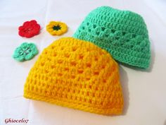 Caciulite copii Crochet Hats, Beanie, Fashion, Knitting Hats, Moda, Fashion Styles, Beanies, Fashion Illustrations, Beret