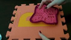 How I block my crocheted work. Helpful for projects that don't turn out as straight or perfect as you want them.
