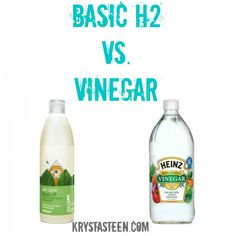 Shaklee's Basic H2 vs. Vinegar. Love Shaklee products