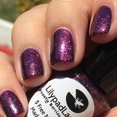 Lilypad Lacquer - Frosty Berries (BN) $13
