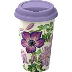Kew clematis travel mug