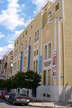 Walking Athens - Route 24 / Piraeus Athens, Greece, Multi Story Building, Walking, Street View, Greece Country, Woking, Athens Greece, Hiking