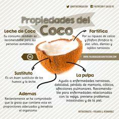 Como hacer la leche de coco, propiedades y beneficios