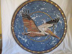Mosaic art, mosaic artist, mosaic backsplashes, mosaic tables, mosaic murals, custom designs, mosaic mirrors, mosaic vases, santa barbara, tile, stone, tile
