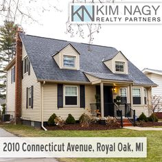 "Just Listed | 2010 Connecticut Avenue, Royal Oak, MI  Beautiful, completely renovated Cape cod with luxury finishes throughout! This home lives large thanks to 2016 addition that more than doubled its living space and gives it the fresh feel of new construction. Spacious formal dining room with bay window and library with french doors greets you upon entry. 3/4"" wide plank floors and Restoration Hardware light fixtures throughout first floor. Bright, open concept kitchen with"