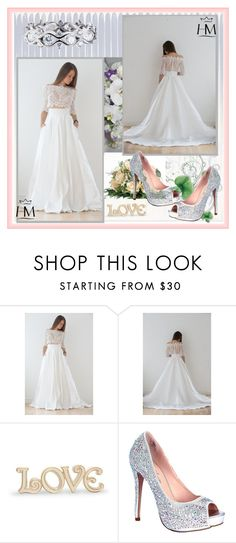 """""""MyHoneymoonDress"""" by amra-2-2 ❤ liked on Polyvore featuring Lenox and Lauren Lorraine"""