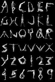 Image result for yoga poses alphabet