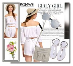 """""""ROMWE 6/7"""" by melissa995 ❤ liked on Polyvore"""