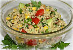 """Sandra's Recipes - Alaska: Light and Healthy Quinoa """"Keen-Wa"""" Fiesta Salad by sandrasalaskaphotographs, via Flickr"""