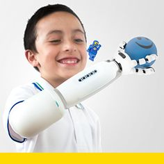 IKO is a creative prosthetic system designed for childrento explore and empower their creativity in a playful,social and friendly way. The project proposes a newmindset from current prosthetics. Missing a limb shouldn'tbe a disability for a child, when there is an opportunityto explore and augment potential by creating, playing andlearning.