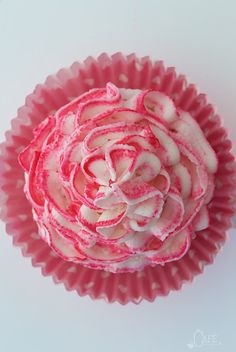 pink lemonade ruffle cupcakes