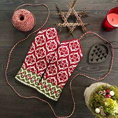 Ravelry: Poinsettia (Julstjärna) pattern by JennyPenny Mitten Gloves, Mittens, Fair Isles, Christmas Star, Needles Sizes, Poinsettia, Ravelry, Swatch, Crochet Earrings