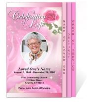 Free Funeral Pamphlet Template | Knowledge | Pinterest | Templates ...
