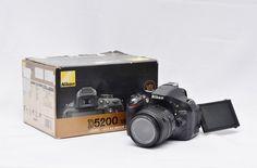 Jual Kamera DSLR Bekas – Nikon D5200: Kamera DSLR Bekas - Nikon D5200 Harga: Rp.4.750.000,- (Ready Stok)