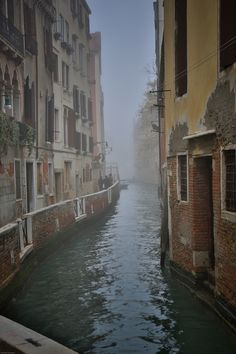 Venice Canals in Fog #мор #столица