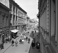 Fortepan — #15964 Old Pictures, Historical Photos, Budapest, Utca, Street View, Historical Pictures, Antique Photos, Old Photos, History Photos