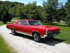 '67 Pontiac GTO. Awesome American Muscle Car!