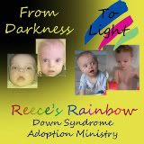 Reece's Rainbow and a link to a a poem about miscarriage