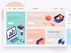 """Universitet """"Modules"""" designed by Slava Kornilov for Flatstudio. Connect with them on Dribbble; the global community for designers and creative professionals. Website Layout, Web Layout, Layout Design, Website Design Inspiration, Daily Inspiration, Dashboard Design, Ui Ux Design, Flat Design, Apps"""