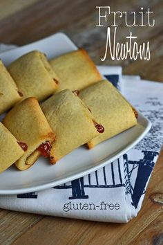 Gluten-Free Fruit Newtons - Gluten Free on a Shoestring