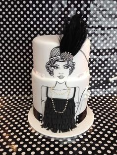 40th Birthday Cake Ideas on Pinterest | Bling Cakes, Gatsby and ...