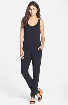 Tart 'Zuna' Drape Back Jersey Jumpsuit available at #Nordstrom