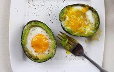 Easy and Delicious Avocado Eggs - SELF