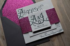 Trends in 2014 as far as the wedding stationery goes...
