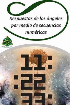 Una de las formas de habituales de proporcionarnos una respuesta a nuestras preguntas a los reinos superiores, es por medio de la aparición de secuencias numéricas. Te mostramos su significado #numerologia #angel