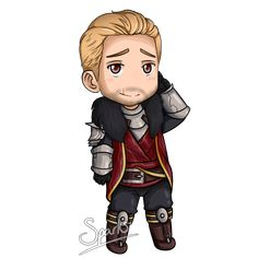 Commission: Cullen Rutherford Chibi by SparksReactor on DeviantArt