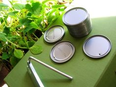 Pflanzenschilder selbstgemacht für gemüsegarten gestalten idee