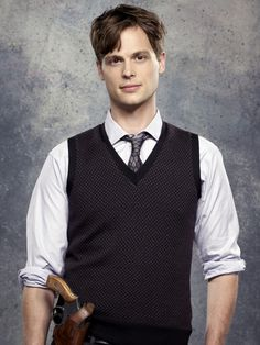 Matthew Gray Gubler as Dr. Spencer Reid. He is SO nerdy in this weird adorable way