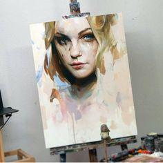 "220 Likes, 1 Comments - Paintsagram (@paintsagram) on Instagram: ""Art by @alpay_efe #oilpainting #painting #artist #art #contemporaryart #paintings"""