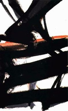 Horizontal Rust - Franz Kline History of Art: Franz Kline