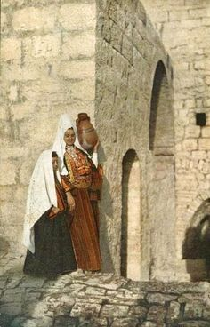 Bethlehem-بيت لحم: Women of Bethlehem 101 - (late 19th, early 20th c.)