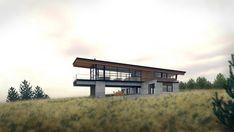 Shed Roof House Design Nova Scotia CA Natural Modern