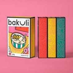 Creative cereal box packaging design