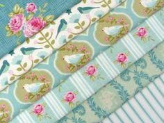 Tilda Fabric Teal