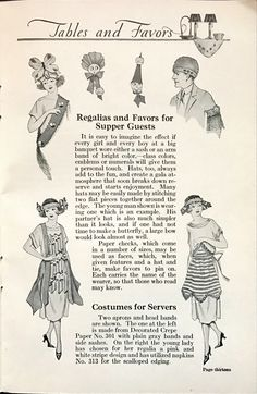 1920s Party Decorating Tips