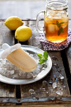 Ice tea pops, would work really well with T2