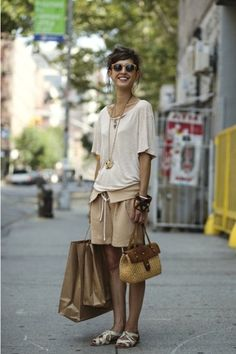 relaxed, stylish and earthy