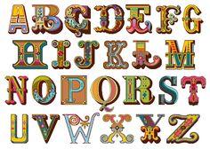AMAZING needlepoint alphabet...you buy the pdf pattern